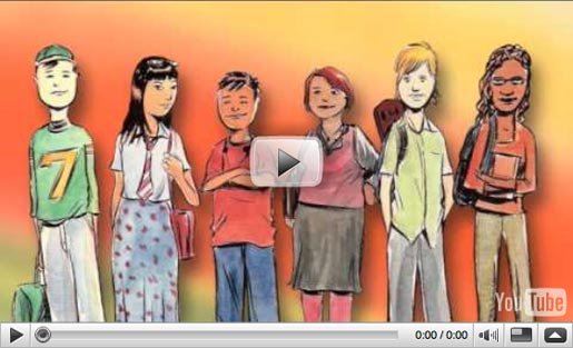 Middle School Confidential series book trailer