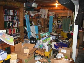Garage, before